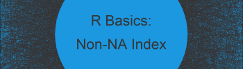 Find Index Position of First Non-NA Value in R (Example)