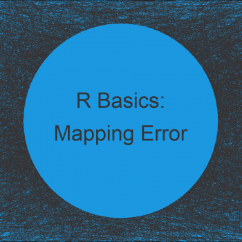 R ggplot2 Error: Mapping should be created with `aes()` or `aes_()`.