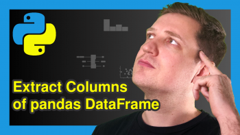 Select Multiple Columns of Pandas DataFrame in Python (4 Examples)