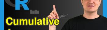 Cumulative Mean in R (3 Examples)