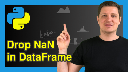 Remove Rows with NaN from pandas DataFrame in Python (4 Examples)