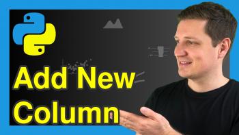 Add Column to pandas DataFrame in Python (2 Examples)