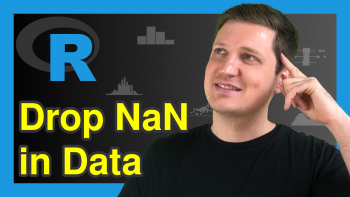 Remove Rows with NaN Values in R (3 Examples)