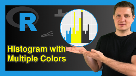 Draw Histogram with Different Colors in R (2 Examples)