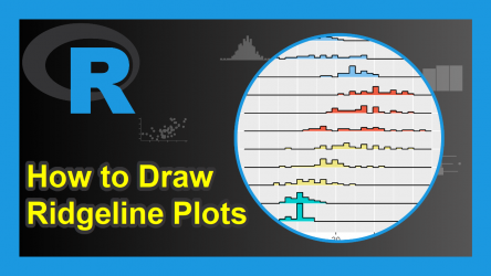 Ridgeline Plots in R (3 Examples)