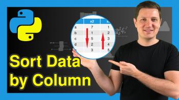 Sort pandas DataFrame by Column in Python (Example)