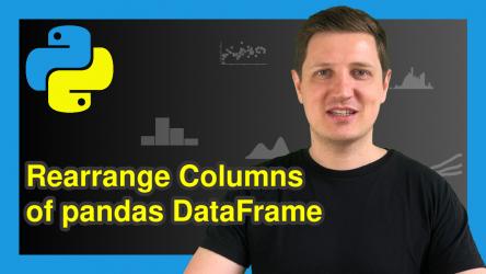 Change Order of Columns in pandas DataFrame in Python (2 Examples)
