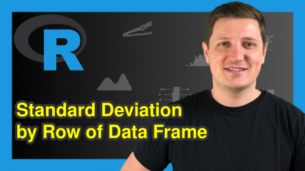 Standard Deviation by Row in R (2 Examples)