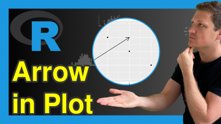 Add Arrow to Plot in R (2 Examples)