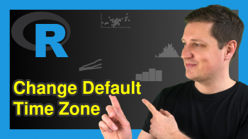 Change Default Time Zone in R (2 Examples)