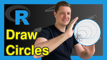 Draw Plot with Circle in R (3 Examples)