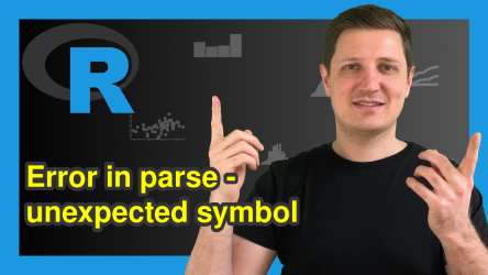 R Error in parse(text) : <text>:1:2: unexpected symbol (2 Examples)