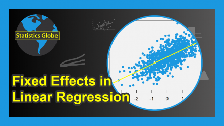 Fixed Effects in Linear Regression (Example in R) | Cross Sectional, Time & Two-Way