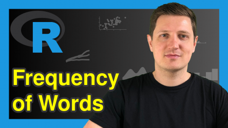 Get Frequency of Words in Character String in R (Example)