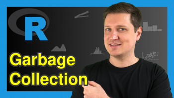 Clean Up Memory in R (Example) | Garbage Collection with gc() Function