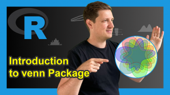 Introduction to the venn Package in R (6 Examples)   How to Draw Up to 7 Sets