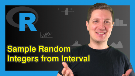 Generate Set of Random Integers from Interval in R (2 Examples)