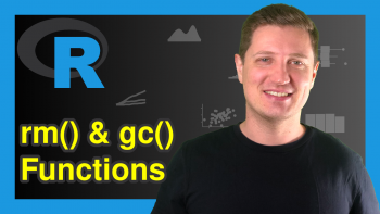 What's the Difference Between the rm & gc Functions in R? (Example)