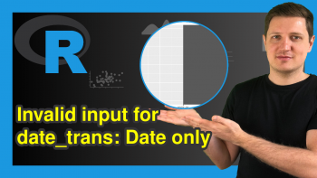 ggplot2 Error in R: Invalid input: date_trans works with objects of class Date only (2 Examples)