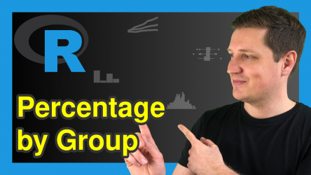 Calculate Percentage by Group in R (2 Examples)
