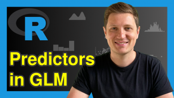 Exclude Specific Predictors from Linear Regression Model in R (Example)