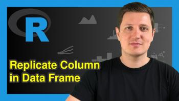 Create Duplicate of Column in R (2 Examples)