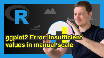R ggplot2 Error: Insufficient values in manual scale. X needed but only Y provided. (2 Examples)