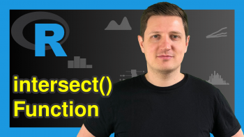 intersect Function in R (2 Examples)