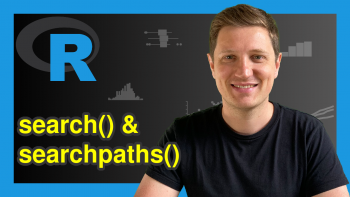 search & searchpaths Functions in R (2 Examples)