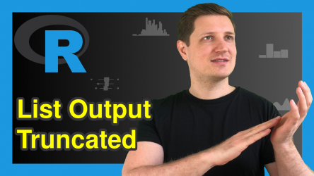 Avoid Truncated List Output of str Function in R (Example) | Expand Listed Variables