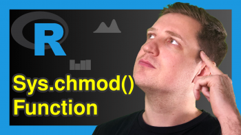Sys.chmod Function in R (Example)