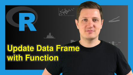 Update Data Frame with Function in R (Example)