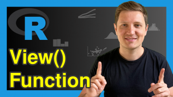 View() Function in R (Example)