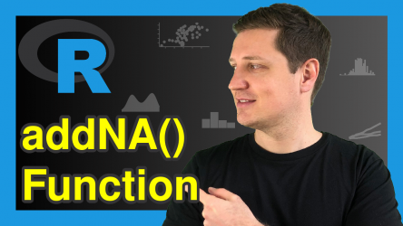 Convert NA into Factor Level in R (Example) | addNA Function for Missing Data