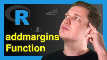 addmargins Function in R (2 Examples)
