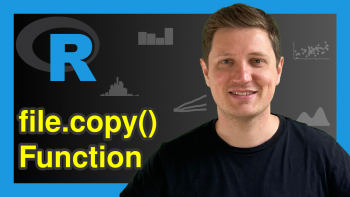 Copy Files from Directory & Folder in R (Example) | file.copy() Function