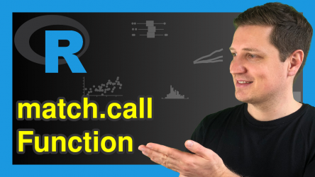 match.call Function in R (Example)