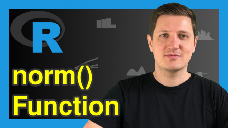 How to Calculate the Norm of a Matrix in R (5 Examples) | norm() Function