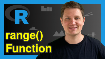range Function in R (2 Examples)