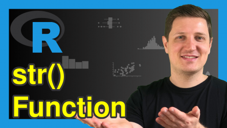 str() Function in R (3 Examples) | Compactly Display Structure of Object