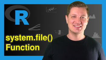 system.file Function in R (2 Examples)