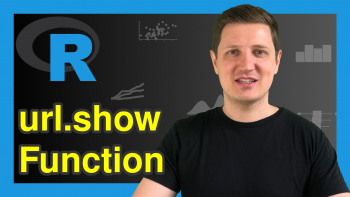 url.show Function in R (Example) | Display Text Files from Remote Server