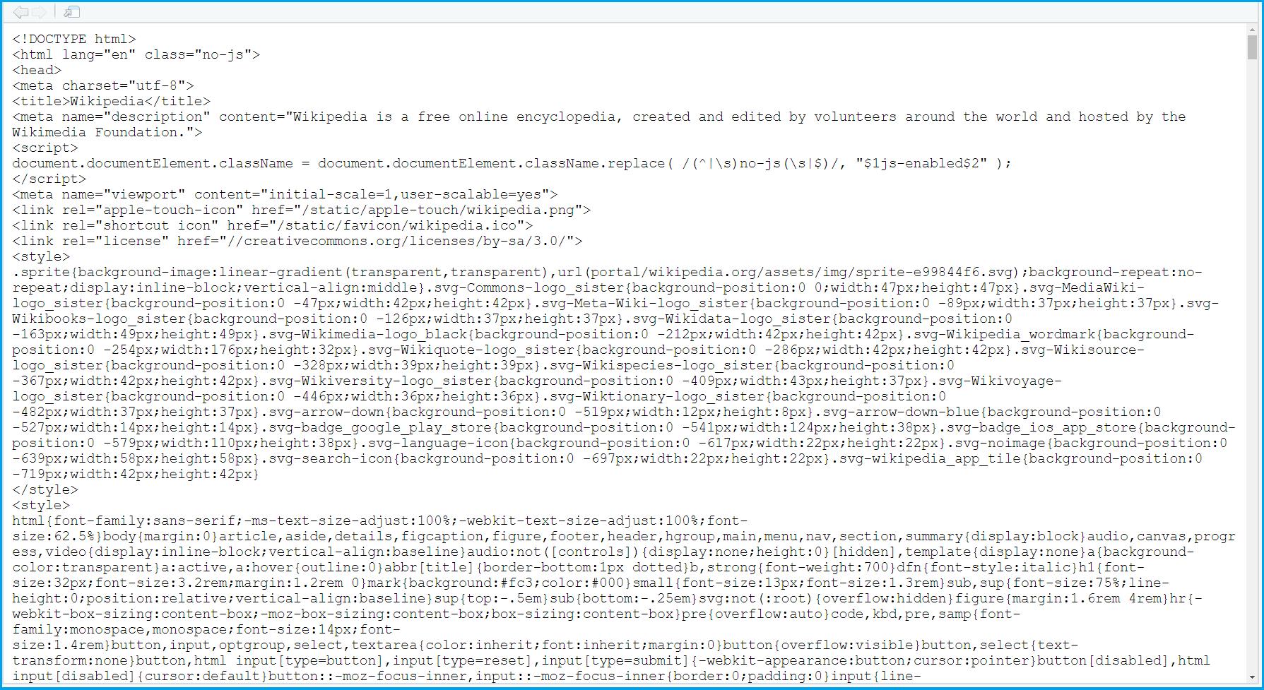 Example URL